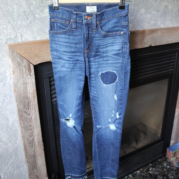 23 p J. Crew Lookout High Rise Skinny Jeans